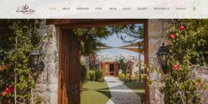 Web Design: Liopetro Weddings