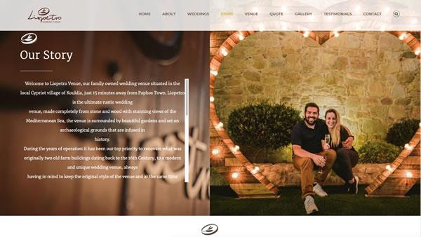 Liopetro Website Project